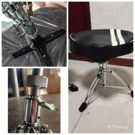 Arborea Dual Braced Drum Throne Drum Set Stool Drum Set Throne Drum Chair