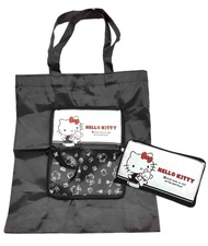 Hello Kitty 皮夾式折疊購物袋