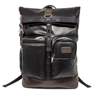 Authentic Tumi_Leather Alpha Bravo Knox Backpack Laptop Travel Bag 92388 - intl