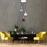 北歐風 現代 設計 馬卡龍 吊燈 餐吊燈 餐廳燈 鋼材 木製品 台製 3燈 光源另計 / 永光照明SG-63617