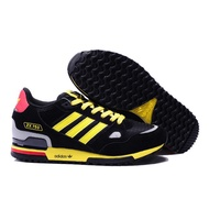 Original Adidas clover ZX750 Black and yellow men's and women's leisure sports shoes Sneakers Running Shoes Sports Shoes