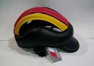高級皮革紋皮帽單車小帽~騎自行車公路車復古鋼管車R1000小摺疊車KHS美利達GIANT安全帽馬球帽騎馬術直排輪鞋
