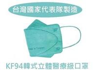 台灣製造+4層+單片包現貨 滿100片送3片KF94醫用醫療口罩鋼印韓系韓風韓版4D 3D立體口罩魚嘴優紙艾爾絲令和