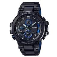 【CASIO 卡西歐】G-SHOCK太陽能電波手錶(黑藍 MTG-B1000BD-1A)
