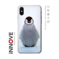 เคสมือถือ Apple iPhone X ลายเพนกวินน้ำแข็ง Penguin Ice Case For Apple iPhone X