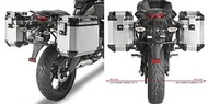 Givi PL4103CAM 側箱架 適用-Kawasaki Versys 650 (2010→2014)