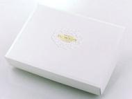 【基本量】優雅歐風8入巧克力&6入馬卡龍盒/純白色 / 100個