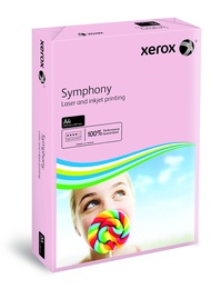 Xerox 80gsm A4 Pastel Tints Pink Ream Symphony Paper