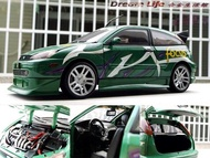 【Motormax 精品】1/18 FORD FOCUS ZX3 SVT 福特 暢銷車種 ~全新品,現貨促銷價~