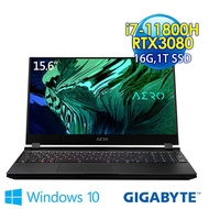 GIGABYTE技嘉 AERO 15 OLED YD 15.6吋 創作者筆電(i7-11800H/16G/1TB SSD/RTX3080-8G/Win10Pro)