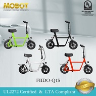 Mobot Official FIIDO Q1S UL2272 Certified Electric Scooter ✅E Scooter FIIDO Escooter