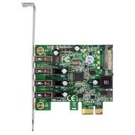 伽利略 PCI-E USB 3.0 4 Port 擴充卡 NEC晶片 台製(PTU304N)