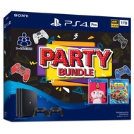SONY ชุดเครื่องเกมคอนโซล PS4 Pro Party 2 Bundle (1TB) รุ่น ASIA-00377 ส่งฟรี มีบริการเก็บเงินปลายทาง #playstation #Nintendo #PS4 #xbox #เกมส์ #เกมส์คอนโซล