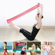 2 เมตรยางยืดยืดโยคะสายรัดต้านทานวงออกกำลังกายการออกกำลังกายเข็มขัดอุปกรณ์เสริม