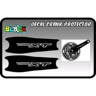 Shimano Deore Xt Quality Crank Protector Decal Sticker