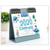 現貨 史迪奇 可愛卡通 2020 立型 桌曆 年曆 日曆