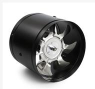 現貨 110v排氣扇管道風機排風扇廚房換氣扇6寸/8寸強力油煙抽風機衛生間