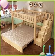 綠巨人家具*【A款式27】雙層兒童伸縮子母床,樂天雙11