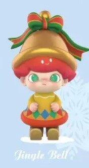 ตัวละคร Dimoo ชุดคริสต์มาสเปิดกล่องทึบของเล่นน่ารักตุ๊กตาของเล่นอนิเมะน่ารักของขวัญ