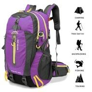 40Lกันน้ำเดินทางกระเป๋าเป้สะพายหลังค่ายธุดงค์แล็ปท็อปDaypackเดินป่าปีนกลับกระเป๋าLIXADA