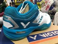 (羽球世家)勝利專業Victor羽球鞋 A730 全新果凍止滑橡膠 美觀實用 A 730 UA 湖水綠白