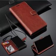 Leather Flip Cover Vivo Y12 - Wallet Case Kulit - Casing Dompet Case Wallet Leather Flip Case Vivo Y12 casing hp leather dompet kulit FLIP COVER WALLET Y 12 VIVO 12 VIVO Y12