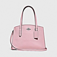 COACH Polished Pebble Leather Charlie 28 Carryall - V5/Aurora (Home Delivery)