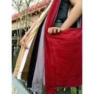 บร สังฆทาน กระเป๋าผ้าย่ามสะพายสีขาว ย่ามแม่ชีผ้าฝ้ายอย่างดี ย่ามเดินทาง กระเป๋าใส่ของไปปฏิบัติธรรม ย่ามชี   สังฆภัณฑ์  ชุดสังฆทาน