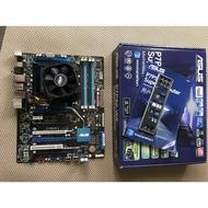 華碩 P7P55 WS SUPERCOMPUTER P55 + INTEL X3440 CPU + 原廠風扇
