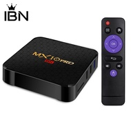 📟庫存IBN MX10 Pro H6 32 / 64GB四核6K HD WiFi HDMI機頂盒電視盒,適用於Andro