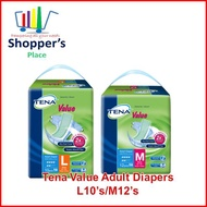 TENA Value Adult Diapers Available in M/L Carton Sale