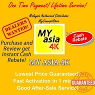 My Asia 4K TV / HD TV/ IPTV VVIP APK FOR ANDROID TVBOX/ LIVE TV BOX