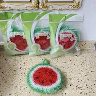 韓國草莓洗碗巾西瓜洗碗布亞克力洗碗抹布摸布菜瓜布3個包郵 Z2Rp