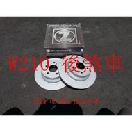 BENZ W210,W203.CLK W209 後煞車盤.後碟盤(一組2片裝)