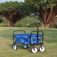 【ANDSO】多用途露營四輪折疊手拉車 大容量露營推車(露營推車)