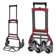 【COLOR】輕型爬階型折疊車(折疊車/樓梯/爬梯/折疊車/推車/搬家/購物車/買菜車/手拉車)
