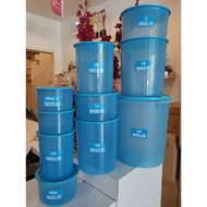 Tupperware one touch blue