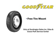 Goodyear 750-16 14PR Hi-Miler CT163 (Mix Type) Commercial Bias Tire with Inner Tube and Flap (SET)