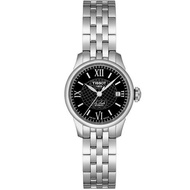 TISSOT 天梭 Le Locle 力洛克系列圖騰紋機械女錶-25mm T41118353