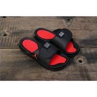 Air Jordan Hydro 11涼拖鞋黑色紅色