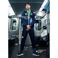 adidas 愛迪達 黑色 運動褲 風褲 三葉草 長褲 縮口褲 王嘉爾 Dv2003 三條線