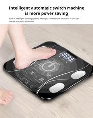 ซากุระ - อังกฤษ - เครื่องชั่งน้ำหนักครัวเรือนอัจฉริยะ - เครื่องชั่งไขมันขนาดเล็ก - ดิจิตอล LED ฟังก์ชั่นเวอร์ชั่นภาษาอังกฤษแสดงบนหน้าจอ