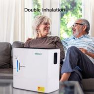 【100 mga unit sa stock】DEDAKJ DE-1S Home Care Portable Oxygen Concentrator Low Operation Noise Oxygene Machine 93% High Concentration Oxygen Generator