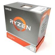 AMD Ryzen 9-3900XT 3.8GHz 12核心處理器 R9-3900XT (不含風扇)