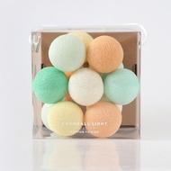 Mini Cocoball LED氣氛棉球燈串  - mint flavor