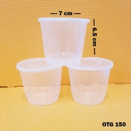 Thinwall Cup Puding 150 ml Cup Pudding 150 ml Isi 25 Pcs OTG.150