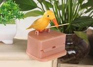 สมาร์ทกล่องไม้จิ้มฟันอัตโนมัตินกกล่องไม้จิ้มฟันหลอดแฟชั่น Creative Home กดกล่องไม้จิ้มฟันอัตโนมัติ (สีสุ่ม)