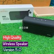 Abodos Wireless Portable Double Speaker AS-BS09 Matte Black V5.0