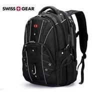 SG-02 正新品SWISSGEAR 瑞士軍刀牌 雙肩背包 背包大容量旅行包17吋電腦包筆電雙肩