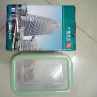 GLASS WARE  四面扣長方型強化玻璃保鮮盒(售完為止)